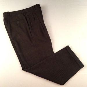 Giorgio Armani Men's 100% Wool Dress Pants 32 x 30